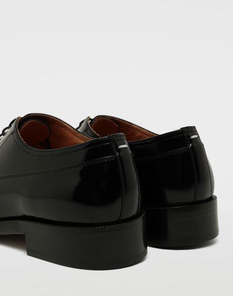 MAISON MARGIELA Brushed leather lace-ups Laced shoes Man a