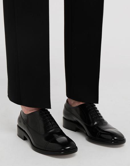 MAISON MARGIELA Brushed leather lace-ups Laced shoes Man b