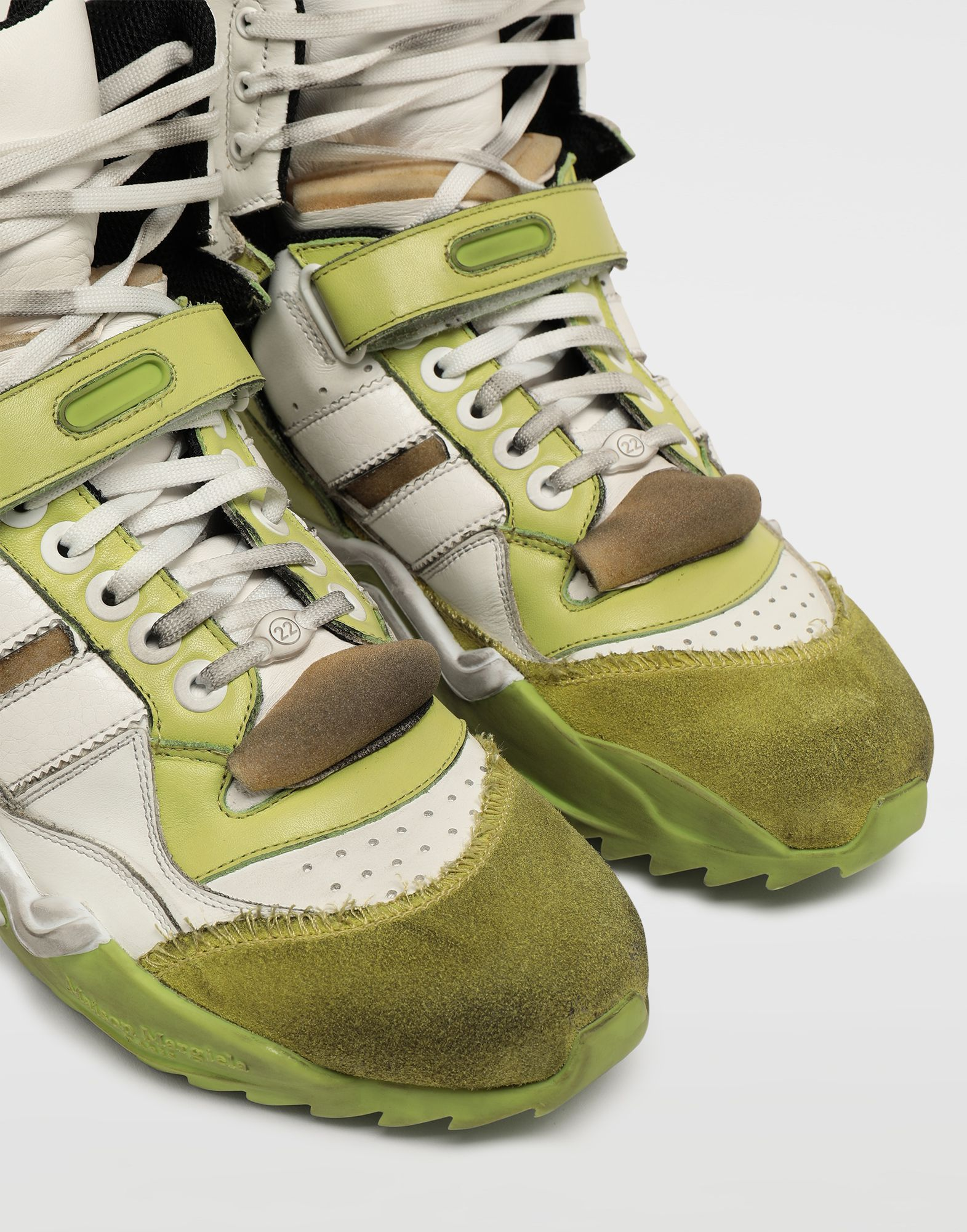 MAISON MARGIELA High-Top-Sneakers Retro Fit Sneakers Herr e