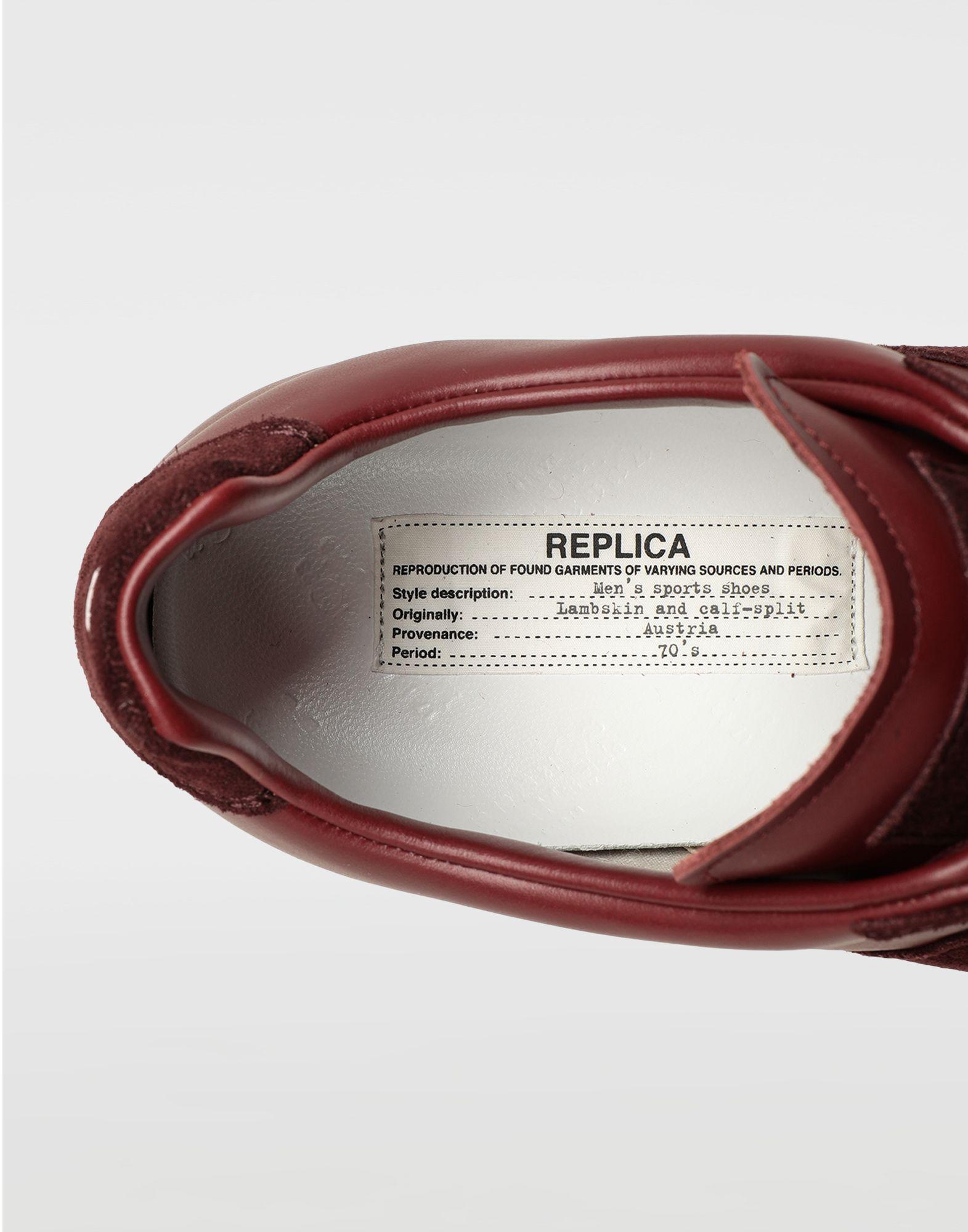 MAISON MARGIELA Replica low top sneakers Sneakers Man a