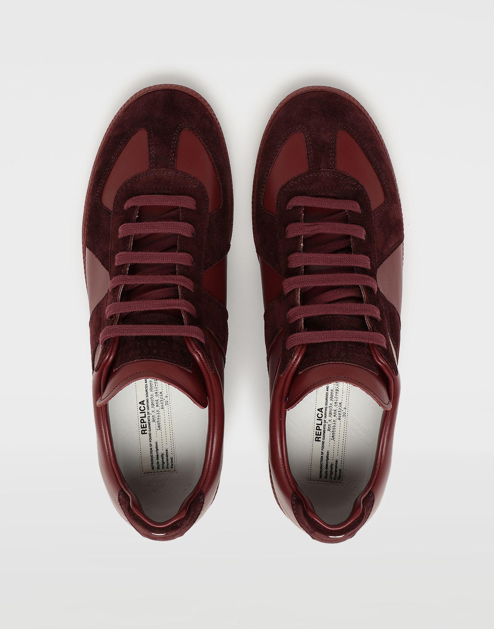 MAISON MARGIELA Replica low top sneakers Sneakers Man d