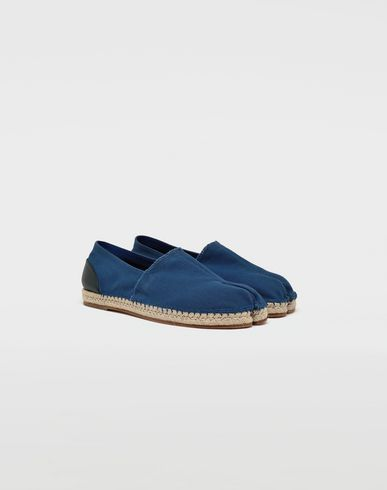 SHOES Tabi cotton espadrilles Blue