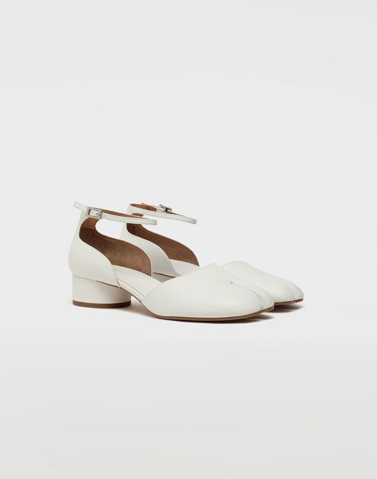MAISON MARGIELA Tabi leather ankle strap shoes Ballet flats [*** pickupInStoreShipping_info ***] r