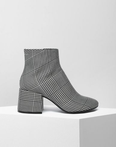 MM6 MAISON MARGIELA Checked ankle boots Ankle boots [*** pickupInStoreShipping_info ***] f