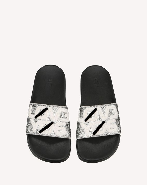 "REDValentino SLIDERED ""ENCRYPTED SPACE NOTES"" SLIDE"