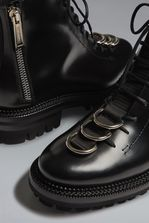 DSQUARED2 Military Punk Ankle Boots Lace-Up Ankle Boot  Man