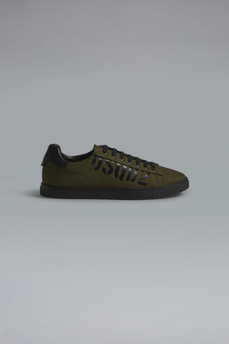 DSQUARED2 Military Punk New Tennis Sneakers Sneaker Man