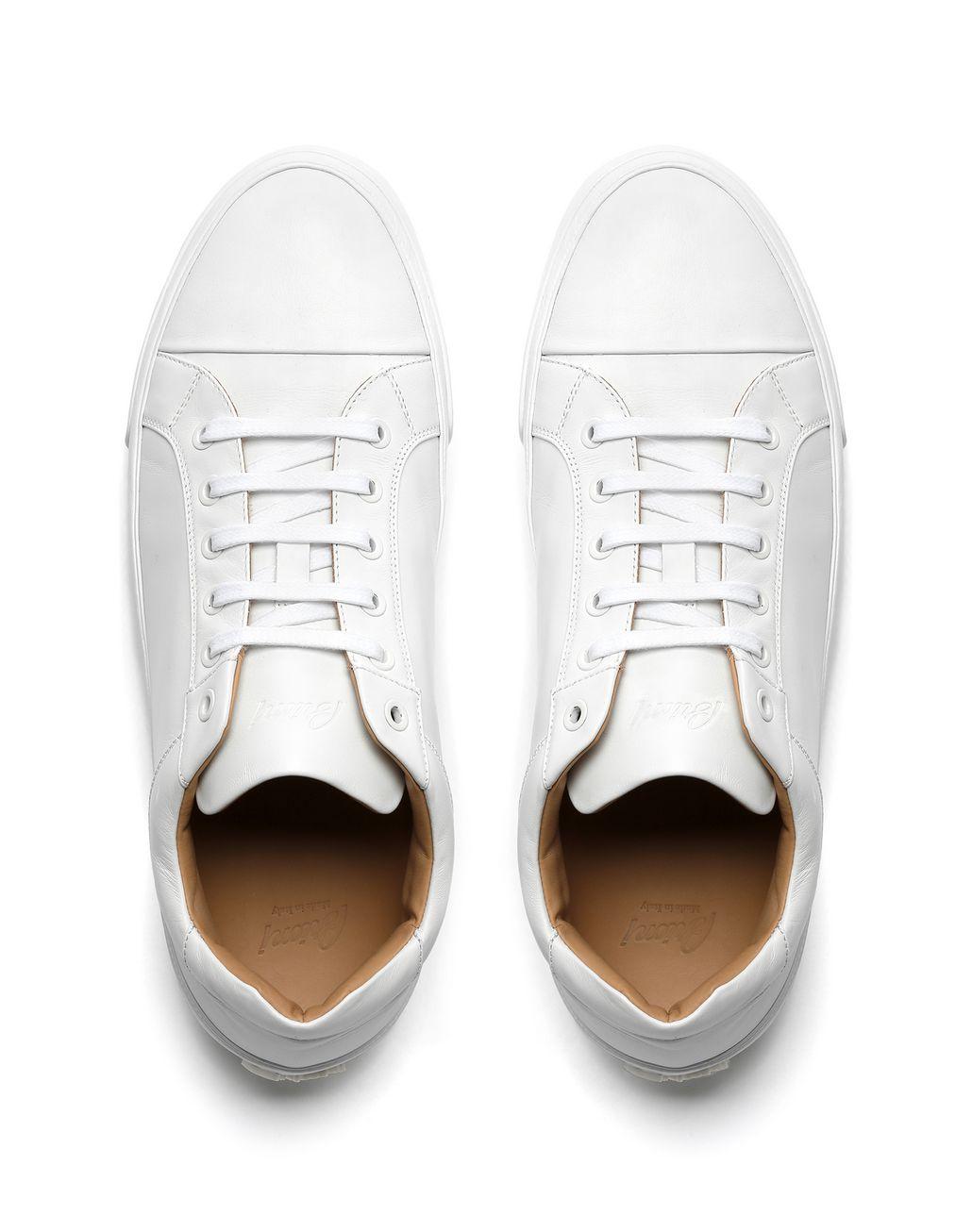 BRIONI White Nappa Sneaker Sneakers Man r