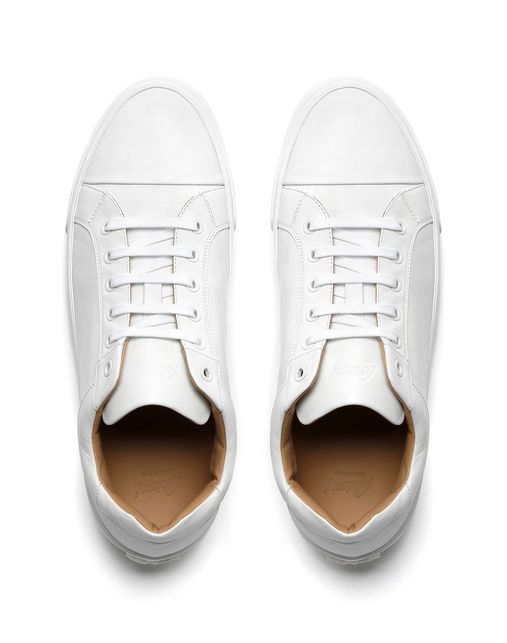 BRIONI White Nappa Sneaker Sneakers [*** pickupInStoreShippingNotGuaranteed_info ***] r