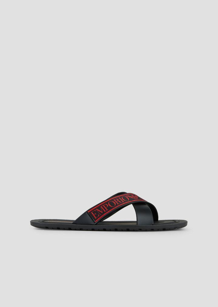 6d3fe85e7 Logoed flip-flops in PVC