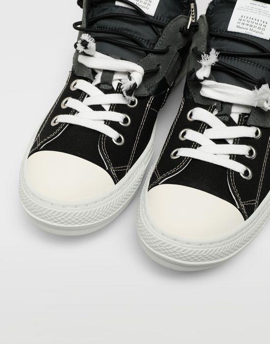 MAISON MARGIELA Spliced low top sneakers Sneakers [*** pickupInStoreShippingNotGuaranteed_info ***] a