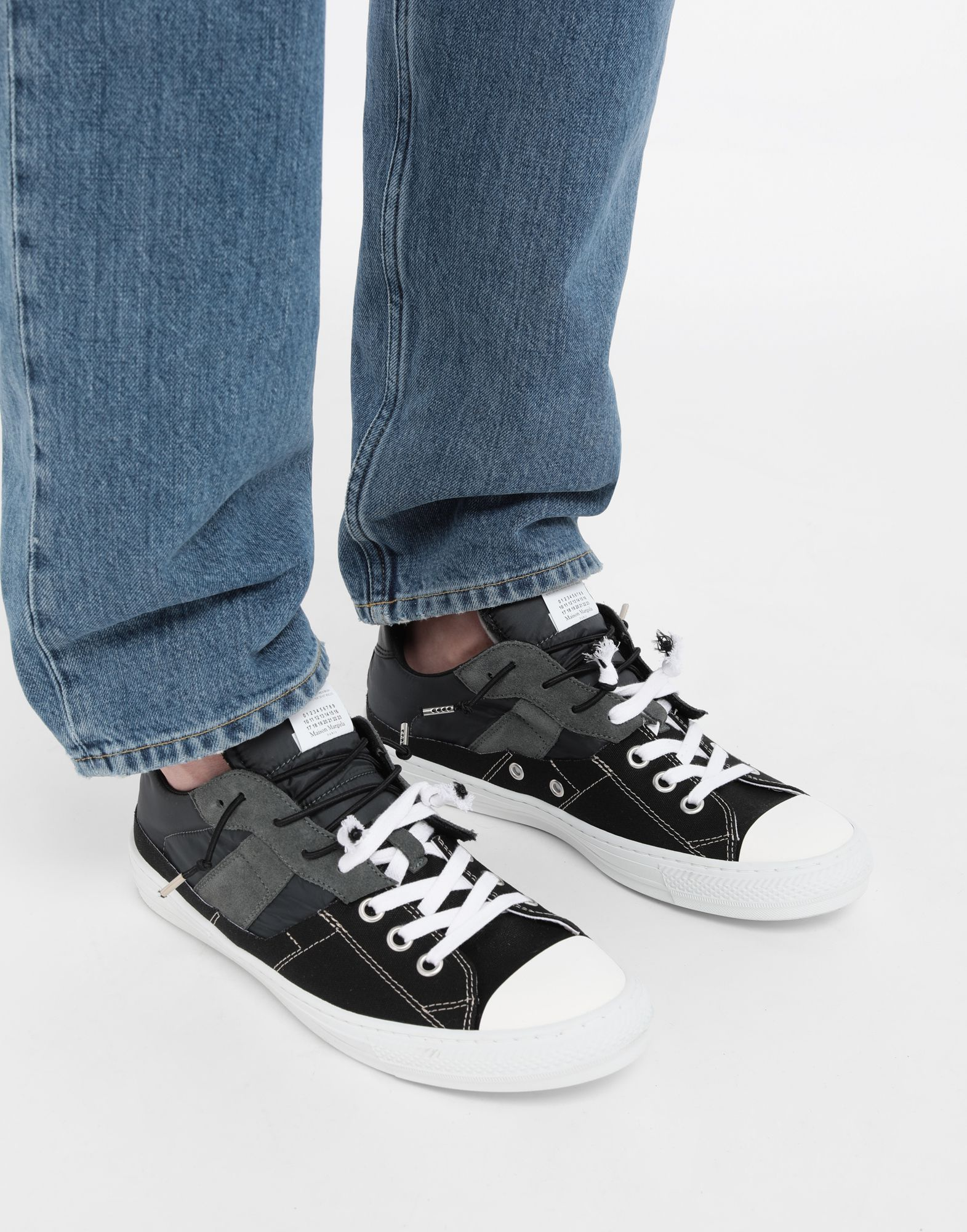 MAISON MARGIELA Spliced low top sneakers Sneakers Man b
