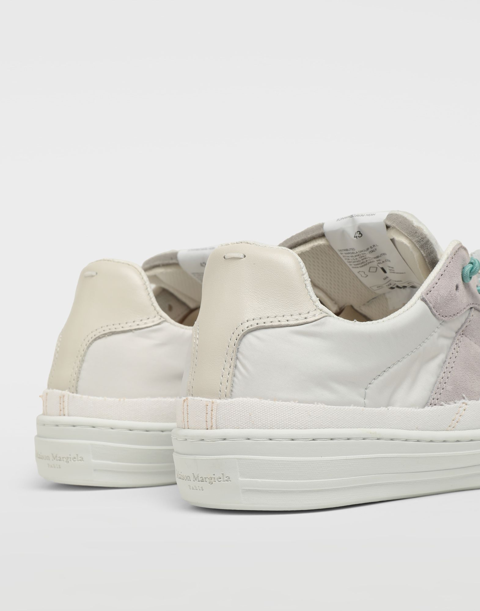MAISON MARGIELA Spliced low top sneakers Sneakers Man e