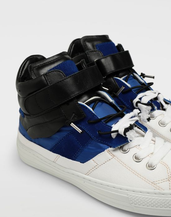 MAISON MARGIELA Spliced high top sneakers Sneakers [*** pickupInStoreShippingNotGuaranteed_info ***] a