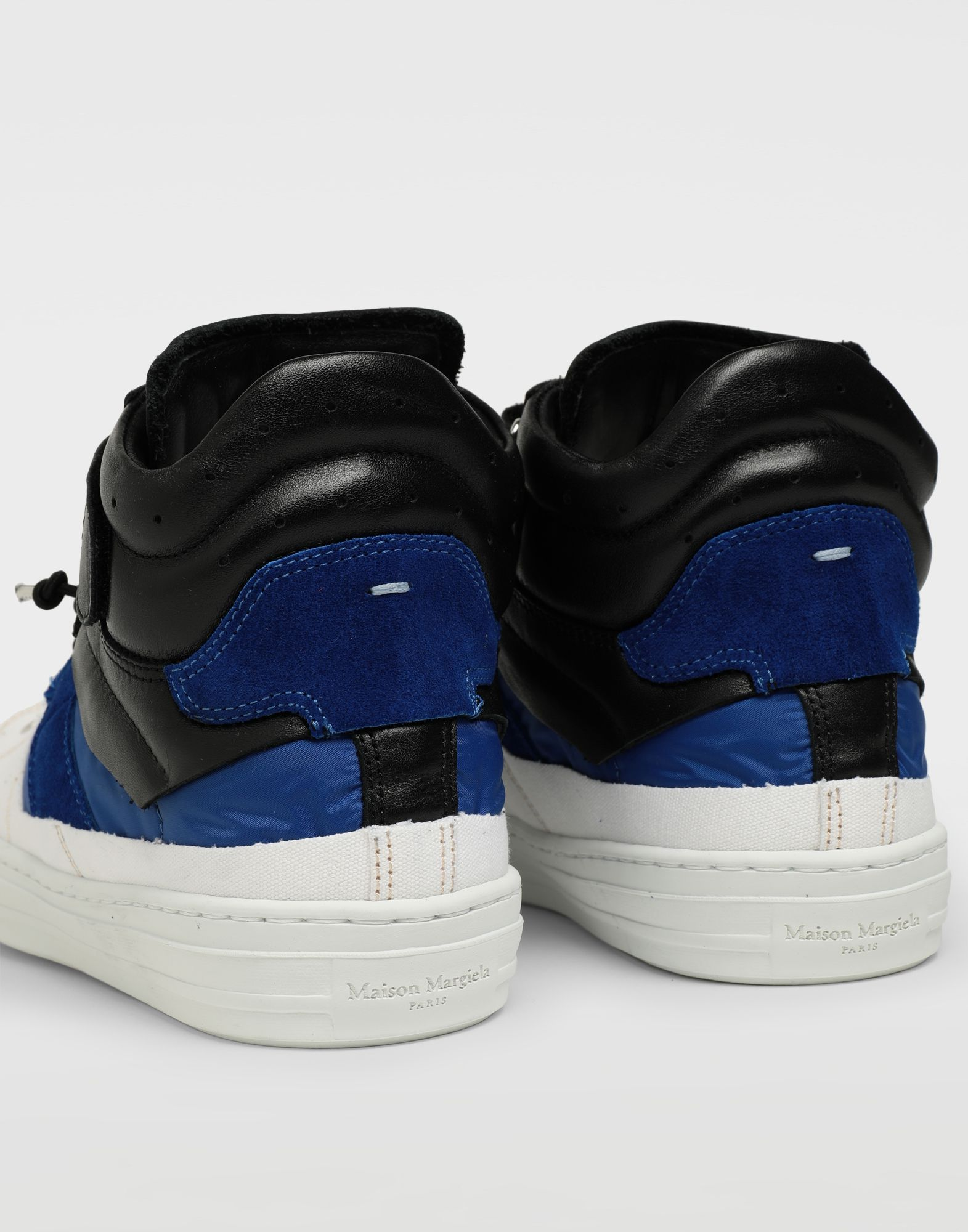 MAISON MARGIELA Spliced high top sneakers Sneakers Man e
