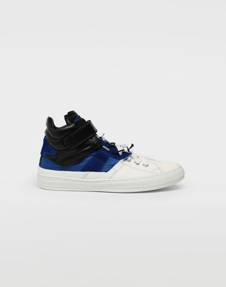 MAISON MARGIELA Spliced high top sneakers Sneakers Man f