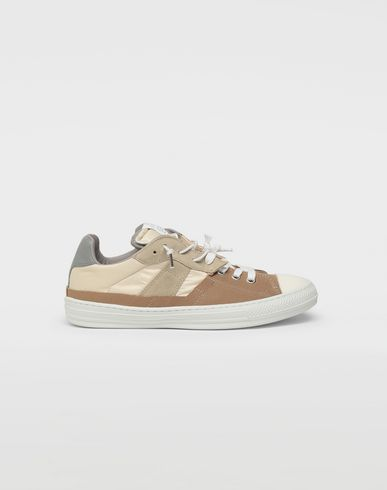 MAISON MARGIELA Sneakers [*** pickupInStoreShippingNotGuaranteed_info ***] Spliced low top sneakers f