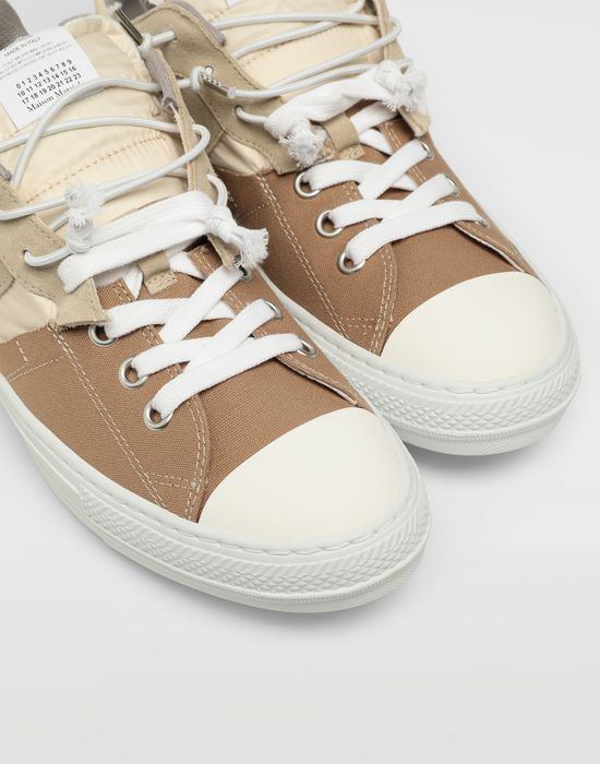 MAISON MARGIELA Spliced low top sneakers Sneakers [*** pickupInStoreShippingNotGuaranteed_info ***] a