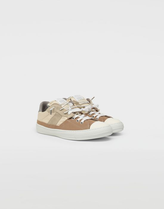 MAISON MARGIELA Spliced low top sneakers Sneakers [*** pickupInStoreShippingNotGuaranteed_info ***] r