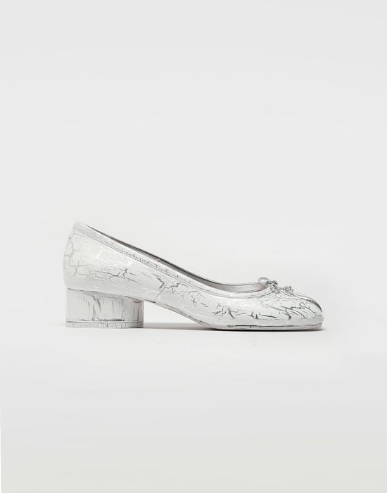 MAISON MARGIELA Tabi leather ballerina pumps Ballet flats [*** pickupInStoreShipping_info ***] f