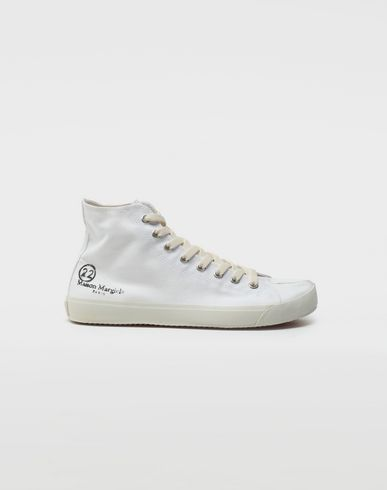 SHOES Tabi high top sneakers Ivory