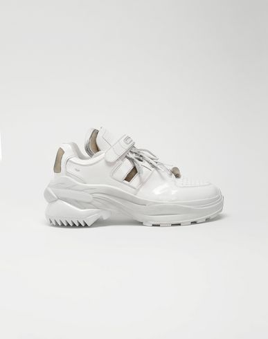 MAISON MARGIELA Sneakers [*** pickupInStoreShippingNotGuaranteed_info ***] Retro Fit laminated low top sneakers f
