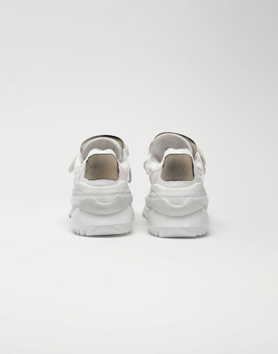 MAISON MARGIELA Retro Fit laminated low top sneakers Sneakers [*** pickupInStoreShippingNotGuaranteed_info ***] d