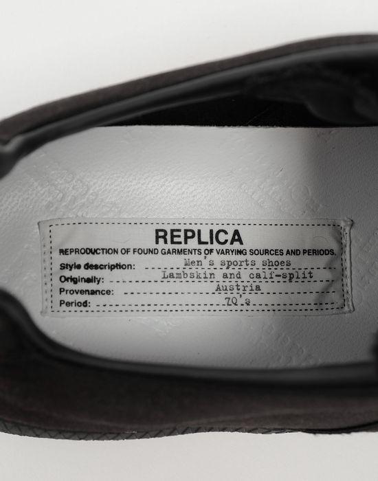 MAISON MARGIELA Replica ロートップ サテン スニーカー スニーカー [*** pickupInStoreShippingNotGuaranteed_info ***] a