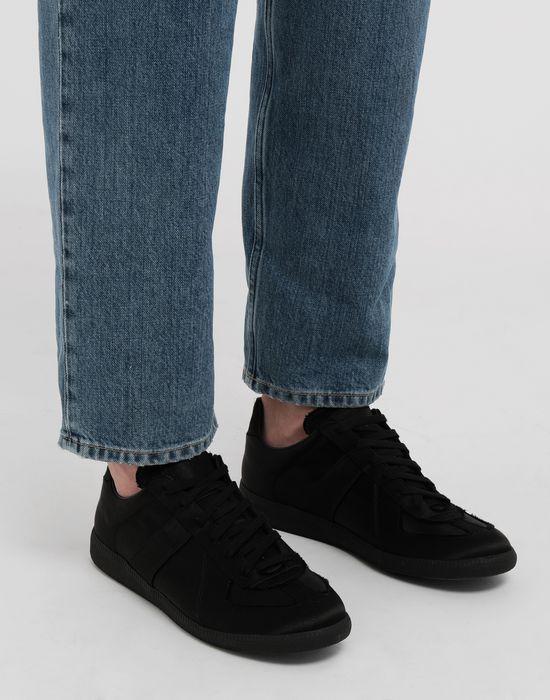 MAISON MARGIELA Replica low top satin sneakers Sneakers [*** pickupInStoreShippingNotGuaranteed_info ***] b