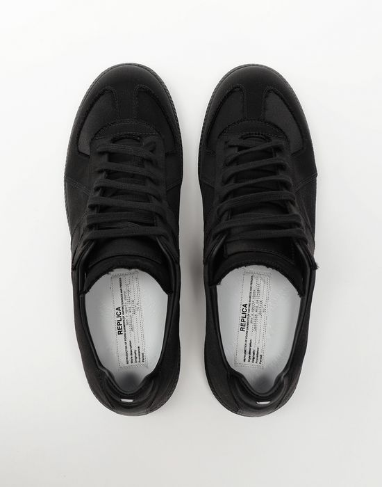 MAISON MARGIELA Replica low top satin sneakers Sneakers [*** pickupInStoreShippingNotGuaranteed_info ***] d