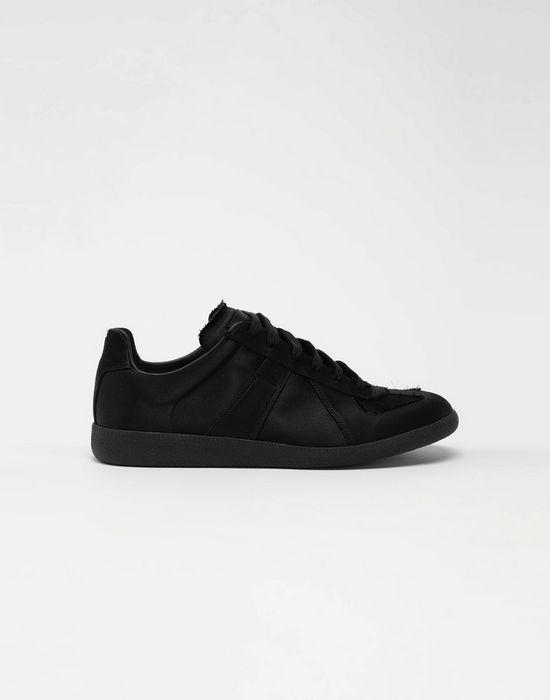 MAISON MARGIELA Replica low top satin sneakers Sneakers [*** pickupInStoreShippingNotGuaranteed_info ***] f