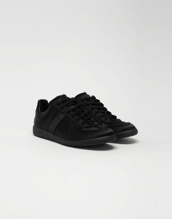 MAISON MARGIELA Replica low top satin sneakers Sneakers [*** pickupInStoreShippingNotGuaranteed_info ***] r