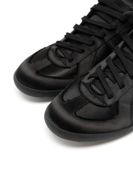MAISON MARGIELA Replica low top satin sneakers Sneakers Man e