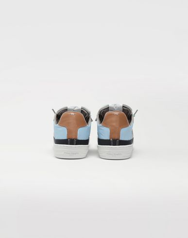SHOES Spliced low top sneakers Blue