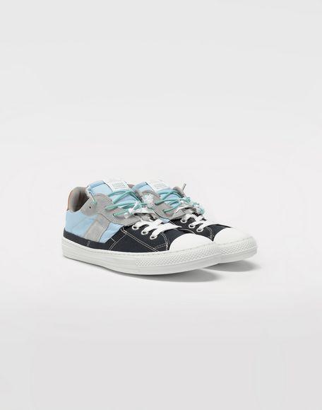MAISON MARGIELA Spliced low top sneakers Sneakers Man r