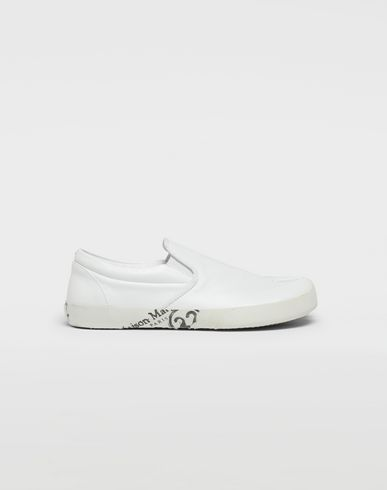 MAISON MARGIELA Sneakers [*** pickupInStoreShippingNotGuaranteed_info ***] Tabi leather slip-ons f