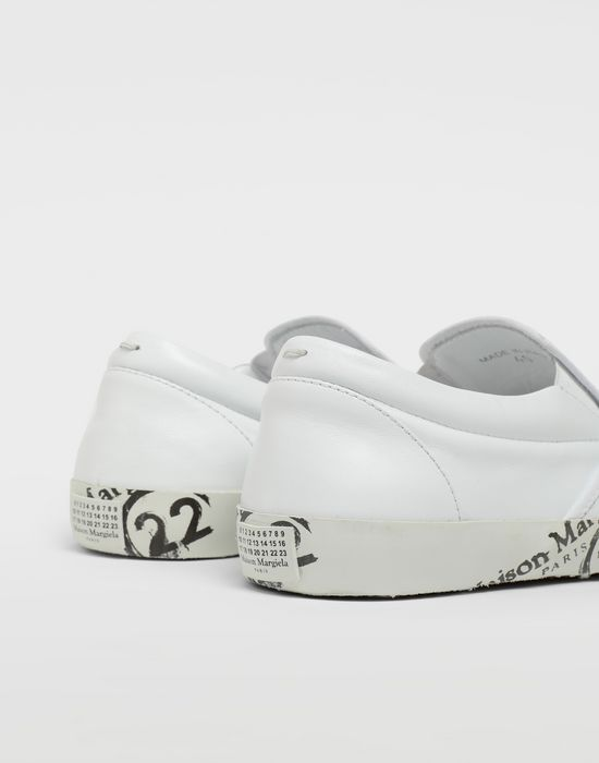 MAISON MARGIELA Tabi leather slip-ons Sneakers [*** pickupInStoreShippingNotGuaranteed_info ***] a