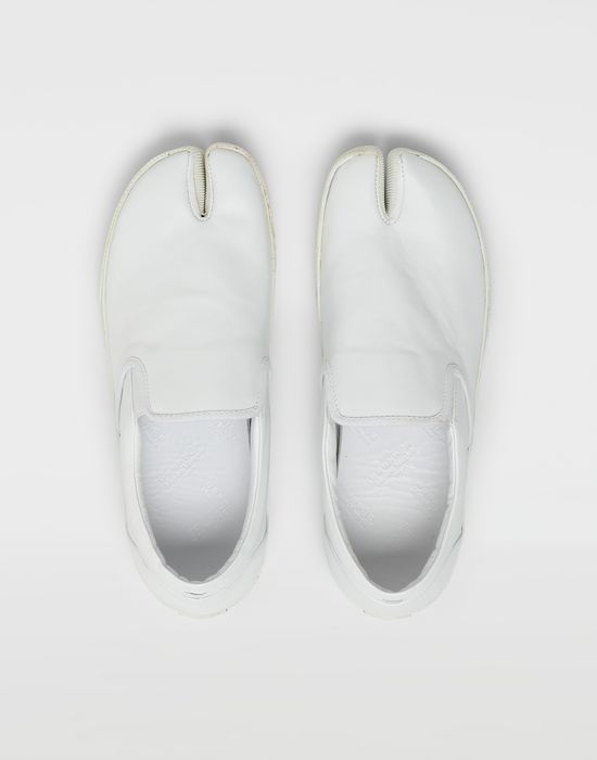 MAISON MARGIELA Tabi leather slip-ons Sneakers [*** pickupInStoreShippingNotGuaranteed_info ***] d