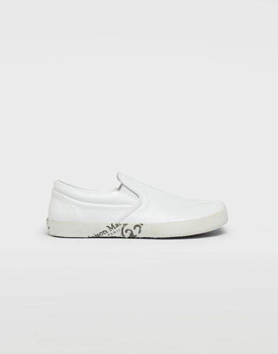MAISON MARGIELA Tabi leather slip-ons Sneakers [*** pickupInStoreShippingNotGuaranteed_info ***] f
