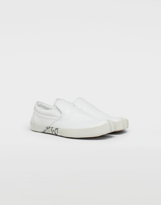 MAISON MARGIELA Tabi leather slip-ons Sneakers [*** pickupInStoreShippingNotGuaranteed_info ***] r