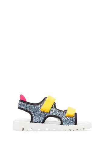 Marni Sandalo in glitter Donna