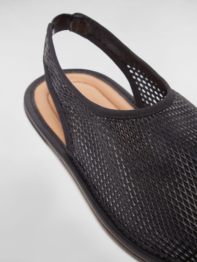 Marni Flat sling-back in lambskin Woman - 5
