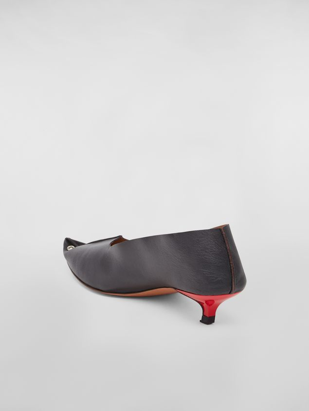 Marni Studded pump RIVETS in lambskin Woman