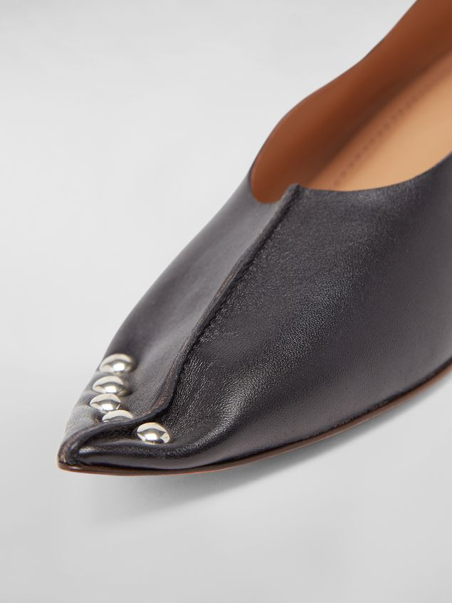Marni Studded pump RIVETS in lambskin Woman - 5