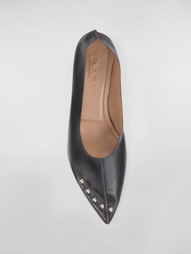 Marni Studded pump RIVETS in lambskin Woman - 4