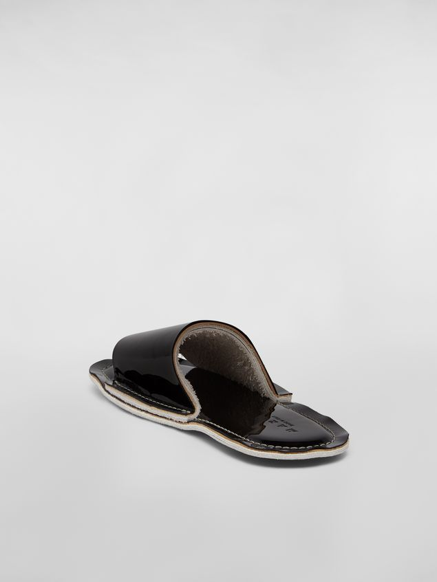 Marni Mule in patent leather Woman