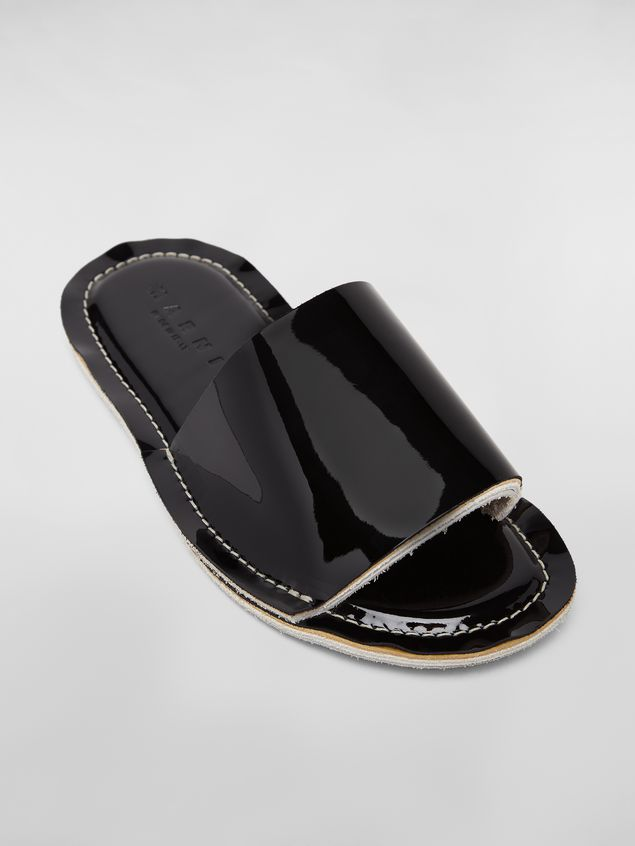 Marni Mule in patent leather Woman - 5