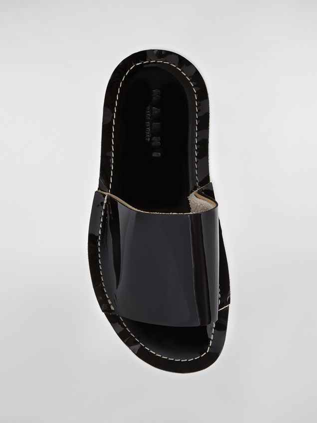 Marni Mule in patent leather Woman - 4