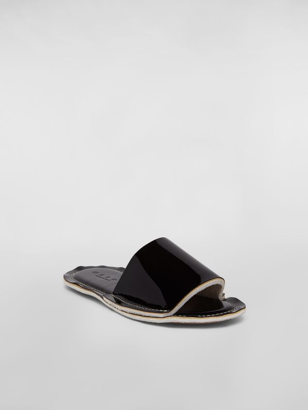 Marni Mule in patent leather Woman - 2