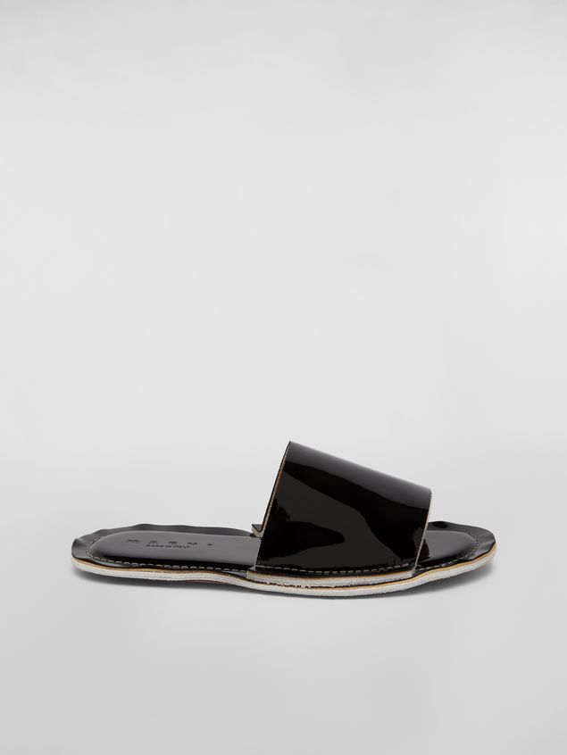 Marni Mule in patent leather Woman - 1